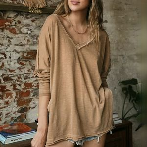Free People On My Mind v-neck tee